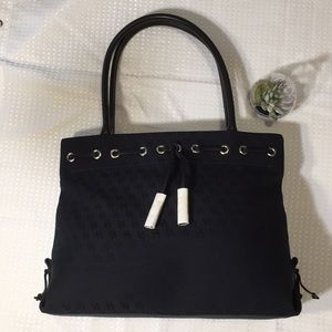 Black Signature Tassel Tote Dooney & Bourke NWOT